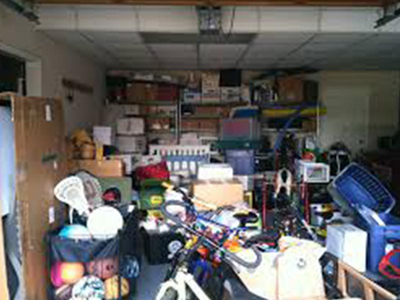 Storage clearing and removal.